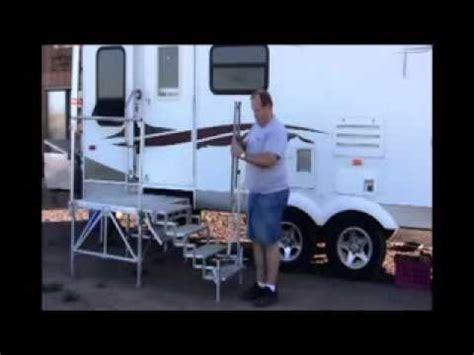 portable rv decks and steps youtube