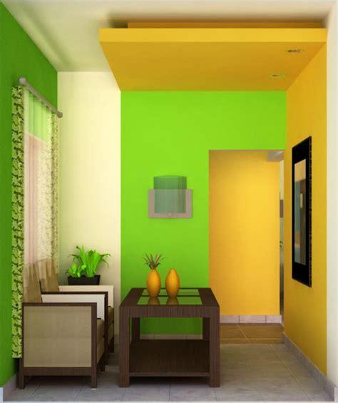 desain interior rumah hijau warna cat dan desain interior rumah minimalis sederhana