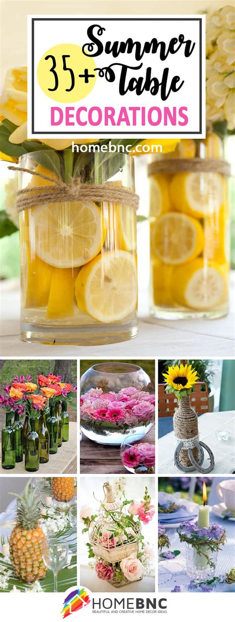summer decorations 35 best summer table decoration ideas and designs for 2017
