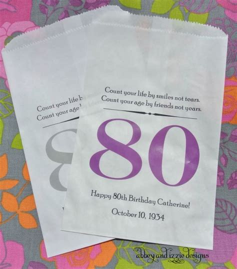 birthday favor bags adult birthday favors birthday favor bags  birthday favor