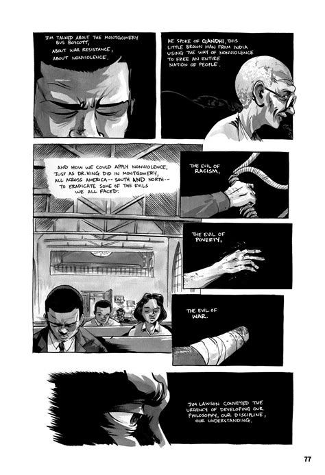 Using Graphic Novels in Education: March: Book One | Comic
