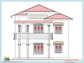 2318 square feet home plan and elevation indian house plans