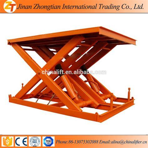 manual lift table rental hydraulic stationary scissor basement lift buy electric