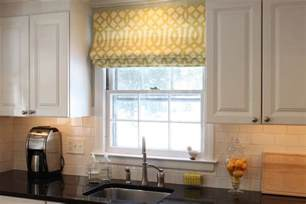 Kitchen Window Curtain Ideas Window Treatments By Window Treatment Style Education Shades