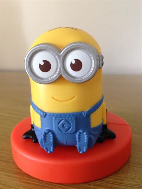 Minion Rocket Racer inside the page mcdonald s despicable me 3 happy meal toys