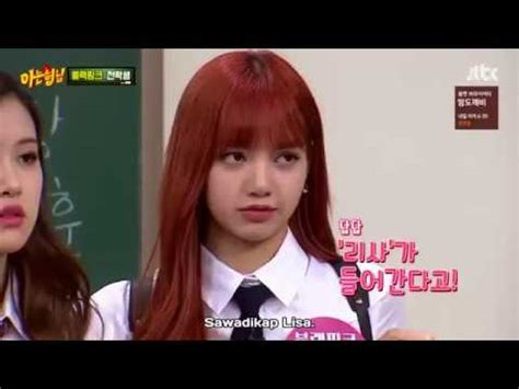 blackpink knowing brother blackpink on knowing brothers lalisa manoban eng sub