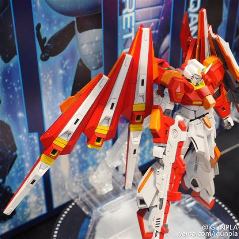 Hgbf 1144 Scramble Gundam 1 hgbf 1 144 scramble gundam exhibited at 56th all japan