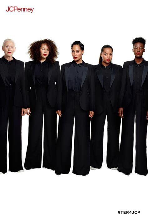 tracee ellis ross tuxedo jacket get glam with this feminine tuxedo set from tracee ellis
