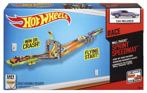 HOT WHEELS® WALL TRACKS® Sprint Speedway?  Shop Hot Wheels