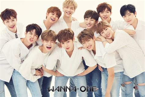 Wanna One 1st Mini Album To Be One Pink Ver Sky Ver wanna one releases tracklist for their mini album to be one allkpop