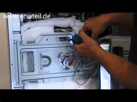 Siemens Backofen Heizspirale by Umluftheizung Backofen Austauschen Videoanleitung