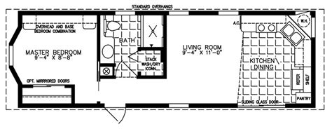 the deloro cottage dc 3371a park model home floor plan