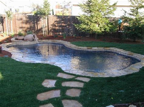 Backyard Pools Sacramento 1000 Images About Swimming Pools On Rock Waterfall Gemstones And Sacramento