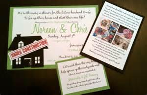 diy couples wedding shower invitations diy couples shower invitation weddingbee photo gallery
