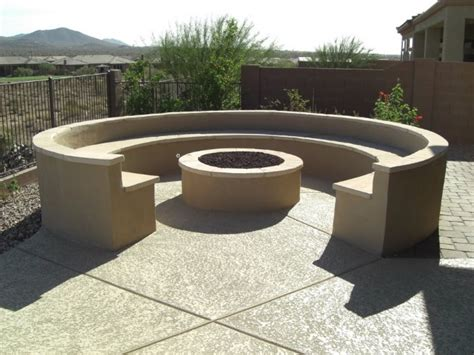 runde feuerstelle backyard pits design ideas and what to consider