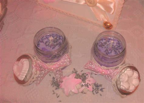 candele paraffina 2 candele bio senza paraffina profumate alla lavanda
