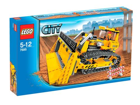 Lego 7685 City Dozer 7685 dozer brickipedia the lego wiki