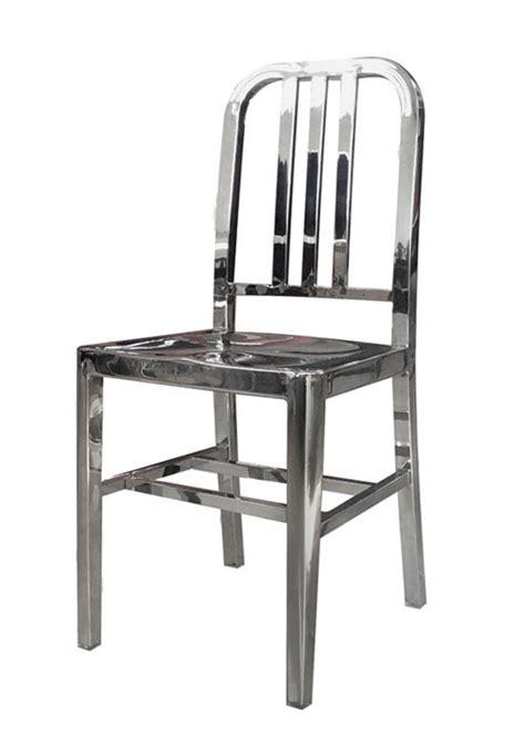 sillas acero inoxidable silla navy ai pulida sillas acero inoxidable ponete