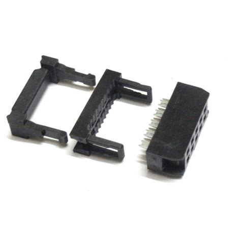 10 pin idc connector flat ribbon cable flat ribbon cable connector 10 pin press mount