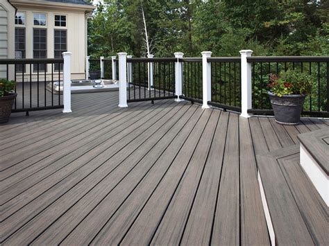 gray deck pictures of beautiful backyard decks patios and fire pits