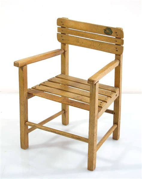 wooden doll chair vintage wooden dolls chair