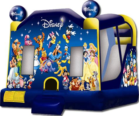 disney bounce house world of disney c4 combo bounce house for rent in mooresville and lake norman area