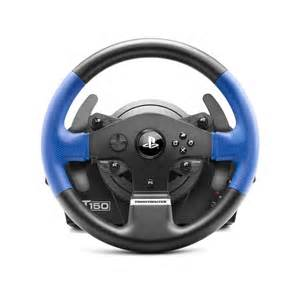 Steering Wheel And Pedals Pc Thrustmaster T150 Feedback Steering Wheel And Pedals