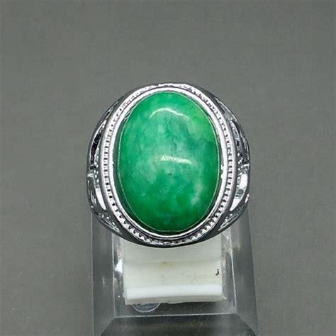 Cincin Wanita Batu Giok Manau cincin batu giok asli harga mahar
