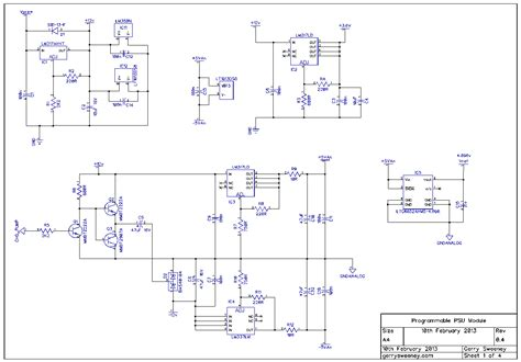 bench power supply schematic fully programmable modular bench power supply part 11
