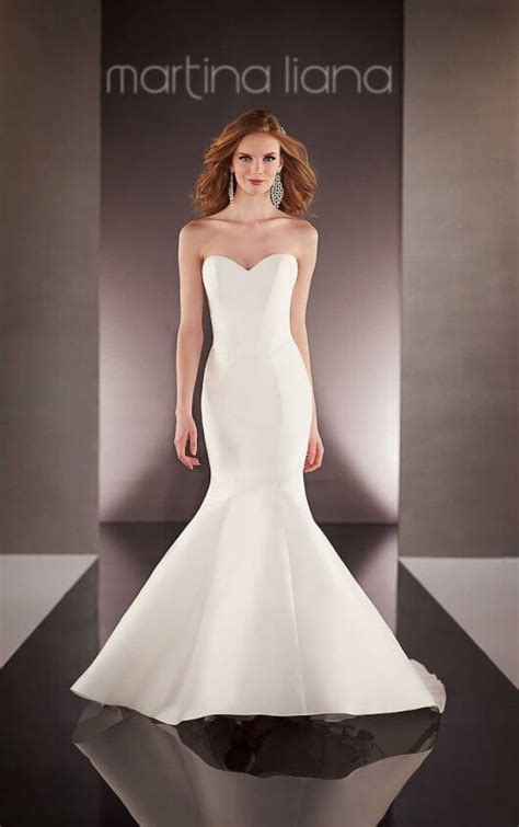 Shop Designer Wedding Dresses by Custom Designer Wedding Dress Martina Liana Wedding Dresses