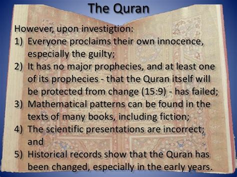 the quran a historical critical the quran and the holy bible compared lesson 01