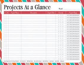 6 best images of project planning sheet printable free