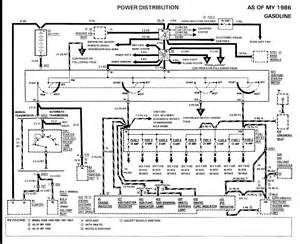 p30 merc 230e 1988 in need of ignition wiring diagram
