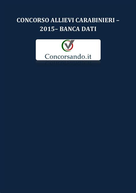 www carabinieri it dati concorso allievi carabinieri 2015 dati