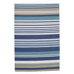 tapis d ext 233 rieur 224 rayures en polypropyl 232 ne bleu 180 x
