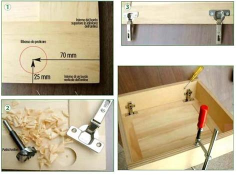 montare mobili montaggio ante prefinite in legno