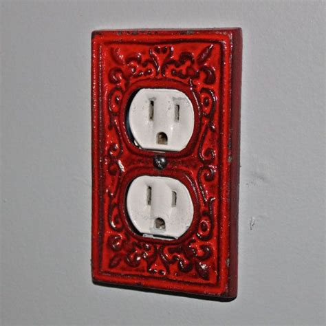 decorative outlet covers decorative electrical outlet plate in cover