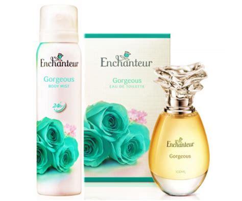 Parfum Enchanteur new gorgeous eau de toilette launch from enchanteur