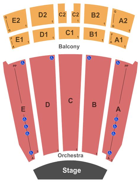 Emens Box Office by Indiana Concert Tickets Seating Chart Emens Auditorium