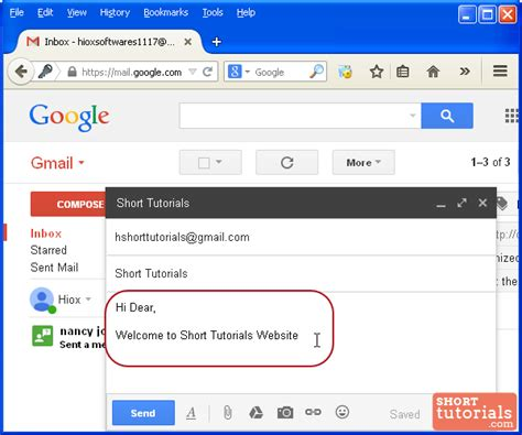 format email in gmail how to compose and send an email using gmail