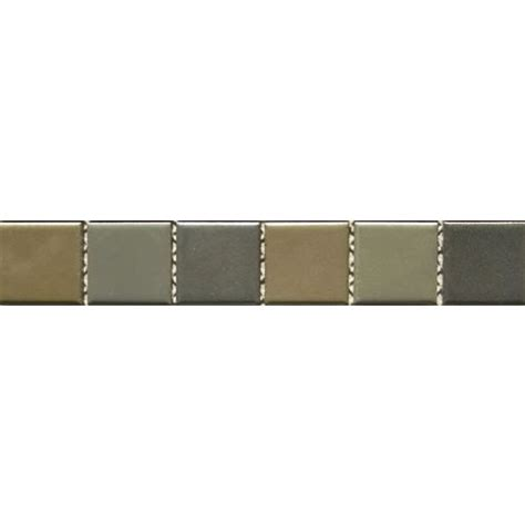 Tile Bordir Two Tone 3 mosaic green marble mosaic border matt tiles