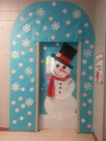 Winter Classroom Door Decorating Ideas - winter door decorating in kindergarten just b cause