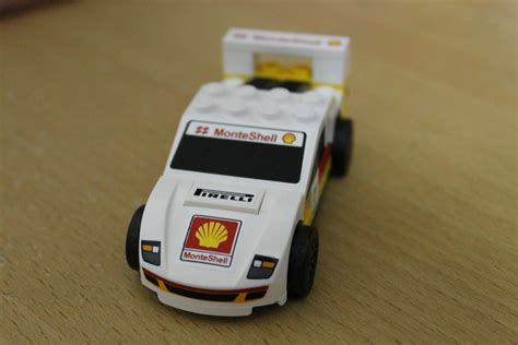 Shell Lego F40 my picture my complete set shell lego car