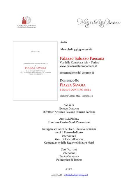 testo volume articolo 31 civico20 news presentazione volume piazza savoia e