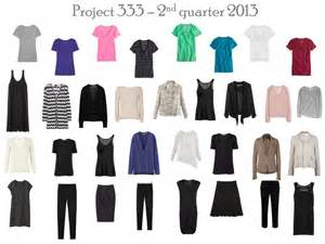 capsule wardrobe project 333 failure in the second week