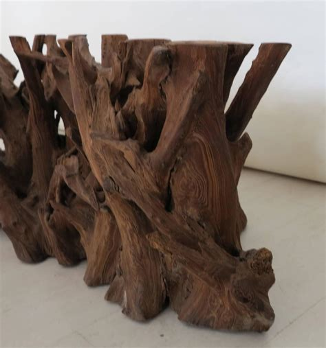 driftwood coffee table base vintage driftwood coffee table base at 1stdibs