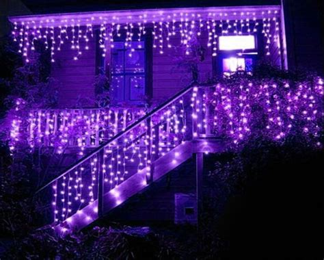 icicle lights cool white led all about house design