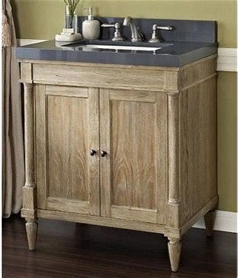rustic modern bathroom vanity fairmont designs rustic chic 30 quot vanity weathered oak