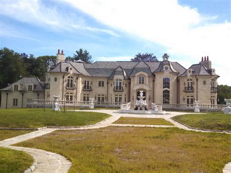 newly built gorgeous newly built stone mansion in old brookville ny