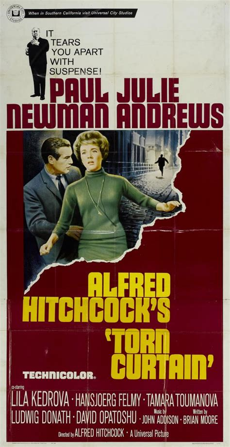hitchcock torn curtain august 2015 alfred hitchcock torn curtain usa 1966
